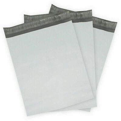 100 X 9 X12 White Poly Mailers Bag Self Seal Ships From Usa 1.6 Mil
