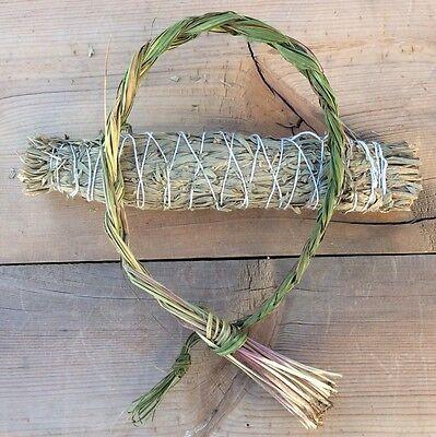 Sweetgrass Smudge Stick (Sweetgrass Braid 18-24