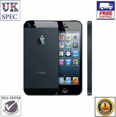 Apple iPhone 5 - 16GB - Black & Slate (Unlocked) Smartphone - Grade A