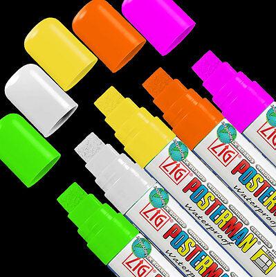 Waterproof Led Flashing Advertising Writing Board Neon Waterproof Markers 15mm