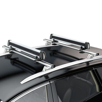 Universal Ski Roof Rack Carriers For Crossbar Carry 4 Snowboard/ 6 Pair Skis (6 Pair Ski Carrier)