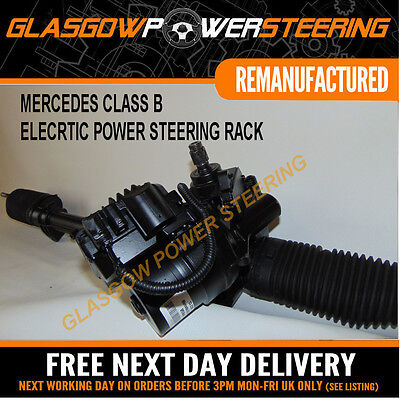 POWER STEERING,MERCEDES CLASS B PETROL ONLY ELECTRONIC STEERING RACK W245