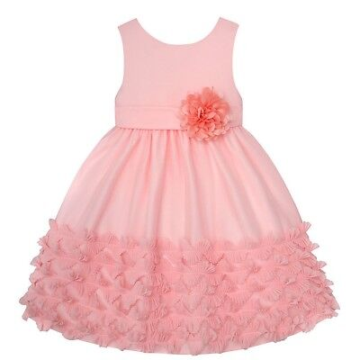 Girls AMERICAN PRINCESS boutique dress 4 5 6 NWT Easter party pink ruffles