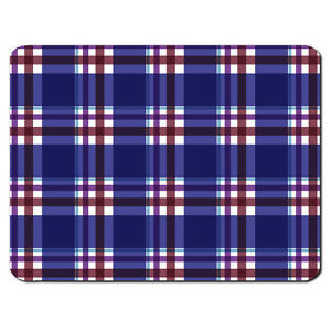 bleu tartan motif ecosse cossais kilt pc ordinateur souris pad mat cadeau. Black Bedroom Furniture Sets. Home Design Ideas