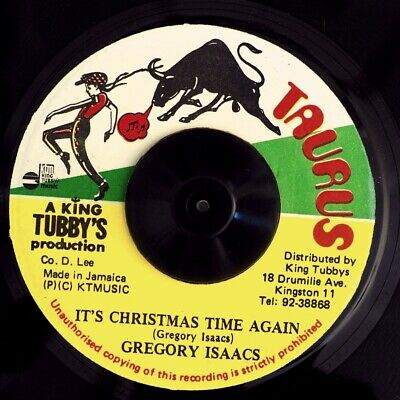 Gregory Isaacs - It's Christmas Time Again  /  Deadly Headley - Version ()