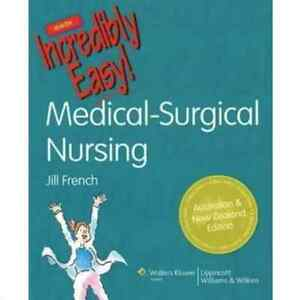 Medical-Surgical Nursing Made Incredibly Easy! By Jill French Waterloo Inner Sydney Preview