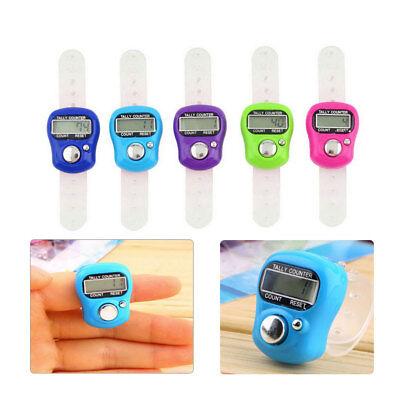 he Digital Tally Counter Hand Ring Finger LED-Licht Counter (Finger-led-licht)