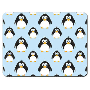 pingouin motif pc tapis de souris pour ordinateur cadeau animal bleu cute dr le ebay. Black Bedroom Furniture Sets. Home Design Ideas