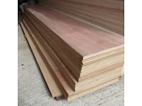 23 Piece Bundle of NEW 18mm WBP Far Eastern Exterior Plywood Offcuts