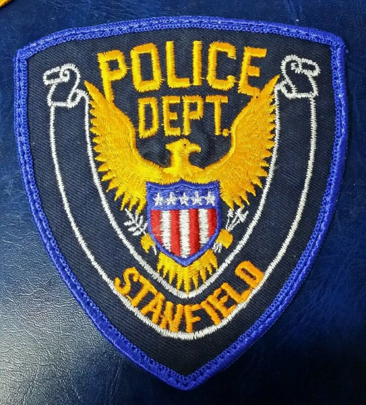 STANFIELD, NORTH CAROLINA POLICE STOCK EAGLE SHOULDER PATCH NC