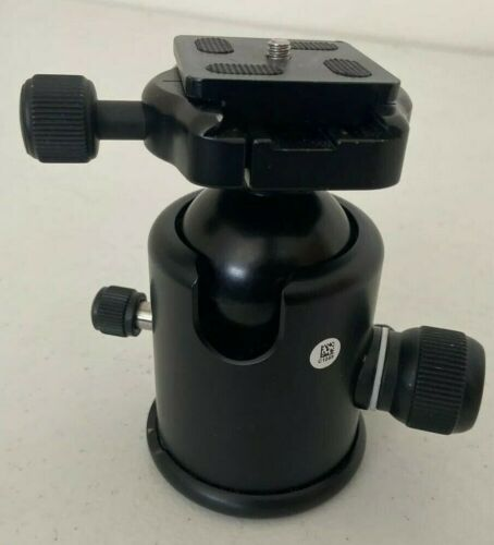 Kirk BH-1 Ballhead with Quick Release - Supports 50 lbs (1st Gen)