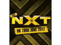 2 WWE NXT Ringside Tickets (Front Row) - Manchester Arena 06/06/17