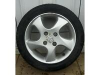 Mazda 195 / 50 / r15 alloy wheel