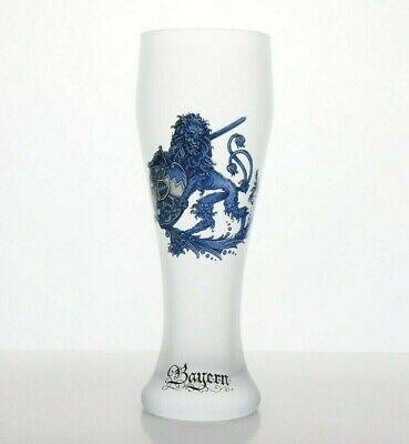 Bayern Frosted Pilsner Beer Glass