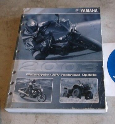 2003 YAMAHA MOTORCYCLE/ATV TECHNICAL UPDATE MANUAL