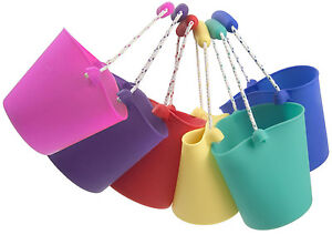 NEW-Scrunch-Bucket-Holiday-Garden-Beach-Sandpit-Toy