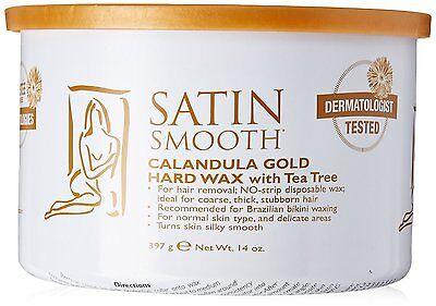 (Satin Smooth Calandula Gold Hard Wax with Tea Tree 14oz)