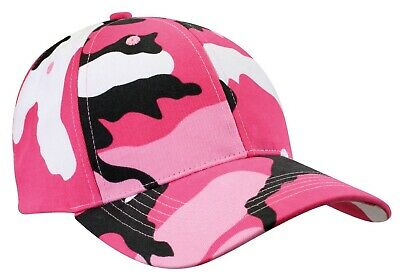 Low Profile Camo Cap Pink Camouflage Baseball Hat Rothco 9180