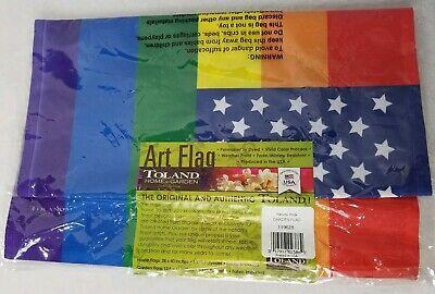 Toland Home Garden Patriotic Pride Decorative Gay Lesbian Rainbow Support...](Gay Pride Decorations)