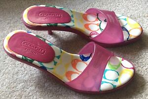 Coach Ladies Shoes Size 7.5 Authentic Like New!