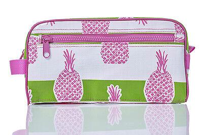 Toss Designs Bella Pineapple Head Shot Cosmetic Make Up Waterproof Bag