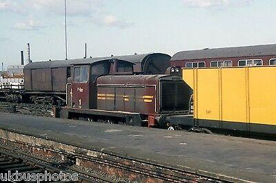 NIR No.1 Belfast York road 1983 Northern Ireland Rail Photo