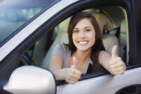 Cours de conduite,location de voiture pour Saaq examen