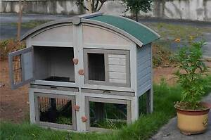 ♥♥ Double Rabbit /Guinea Pig Cage with Divider 2 Cages in 1 ♥♥ Londonderry Penrith Area Preview