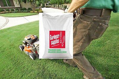 20kg Premium Garden Lawn Grass Seed With Rye Quick Establishing Heavy Use