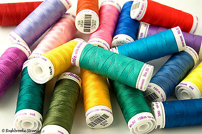 (Mettler Silk Finish Cotton All Purpose Thread 50 wt 3 ply 164 yard - Page 3)