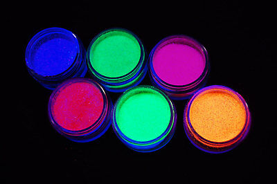 PaintGlow UV Blacklight Reactive Face and Body Glitter Shaker- Fast USA - Uv Body