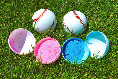 Gender Reveal Baseball Boy or Girl Baby Shower Reveal Surprise Party Supplies  (Gender Reveal Decorations)