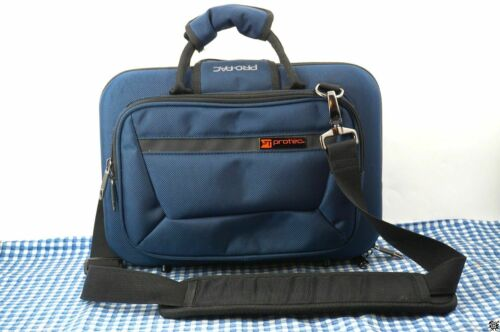 Protec Bb & A Double Clarinet Slimline PRO PAC Case Model PB307 Blue Black