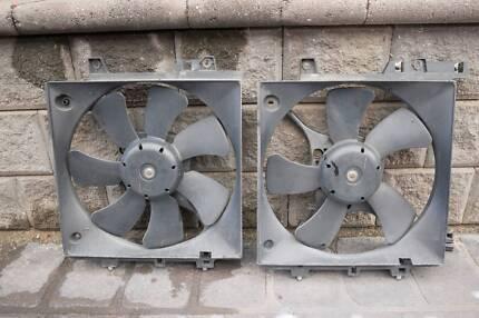 2002 STI Radiator/Condensor Fans