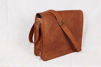 Personalized Real Leather Handbag Briefcase Laptop Tote Shoulder Messenger Bag