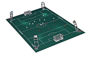 NEW TABLE SOCCER FLOODLIGHTS. BOX OF 4 LIGHTS. FULLY WORKING. IDEAL FOR SUBBUTEO