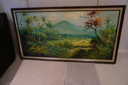 3 x Landscape Artwork with Intricate Frames Brighton East Bayside Area Preview