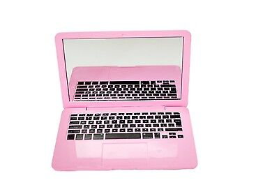 Pink Mini Plastic Laptop Computer For 18 Inch American Girl Doll Clothes