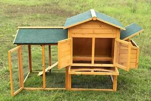 THIS WEEK SPECIAL. $ 99.99 ONLY. CHICKEN COOP WITH NESTING BOX