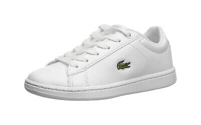 Lacoste Carnaby Evo 119 Kids' Shoes 7-37SUC000321G - White/White