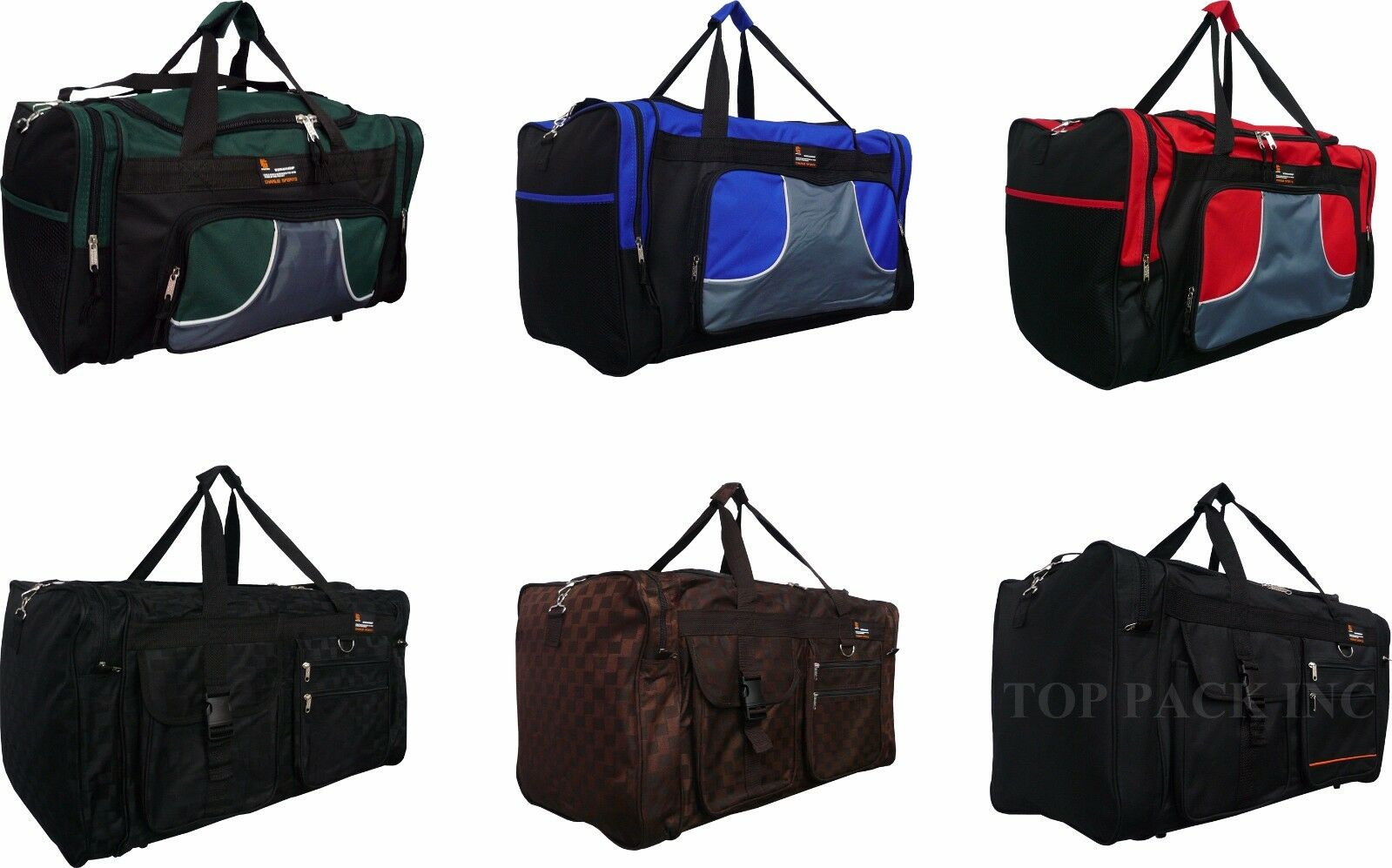 "20""/28"" Charlie Sport Duffel Bag /Gym/ Luggage/Suitcase/Trav"