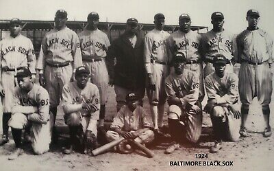 1924 BALTIMORE BLACK SOX 8X10 TEAM PHOTO BASEBALL PICTURE NEGRO LEAGUE