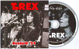 MARC BOLAN & T.REX - COCKPIT THEATRE 1971- ORIGINAL EASY ACTION RELEASE