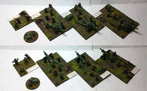 FLAMES OF WAR VIETNAM 15mm US ARMY HOWITZER BATTERY PRO PAINTED