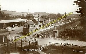 Loudwater Railway Station Photo. High Wycombe - Wooburn Green. Bourne End Line