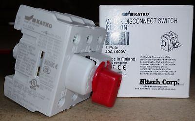 Ku340n Altech Motor Disconnect Switch 3pole