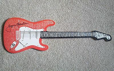 """EXTREMELY RARE - YNGWIE MALMSTEEN-Early 90's FENDER promo w""""Live On Guitar"""" CD"""