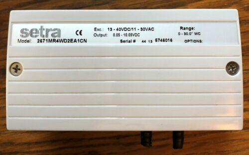 Setra M267-MR4-V10 Differential Pressure Transmitter