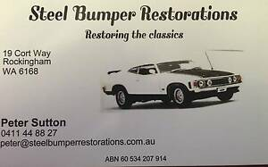 Steel Bumper Restorations Rockingham Rockingham Area Preview