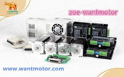 Free To Euwantai Cnc Kit 4axis Nema23 Motor 425oz-in Single Shaft 4.2adriver